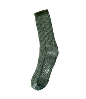 WIGWAM OLIVE DRAB MERINO WOOL SOCKS PAIR WICKS MOISTURE