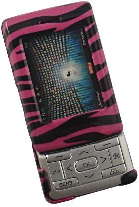 NEW PINK ZEBRA SKIN COVER CASE FOR LG VX9400 9400 PHONE