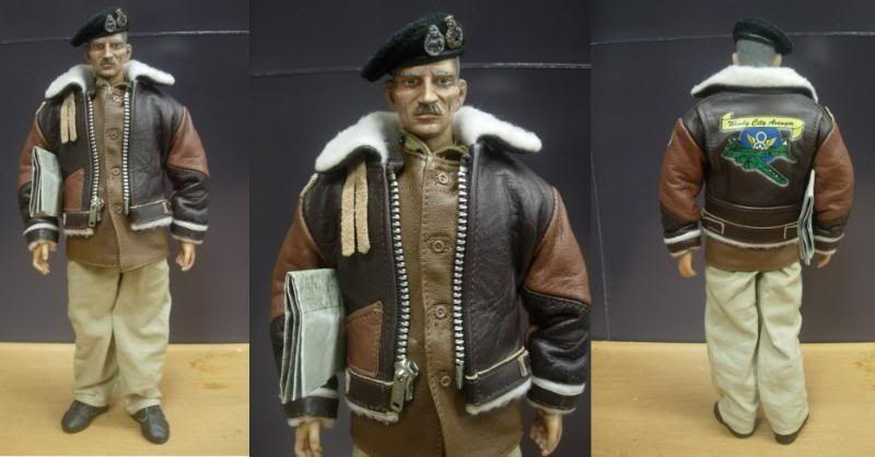 Scale Custom British Field Marshal Bernard Montgomery WW2 by