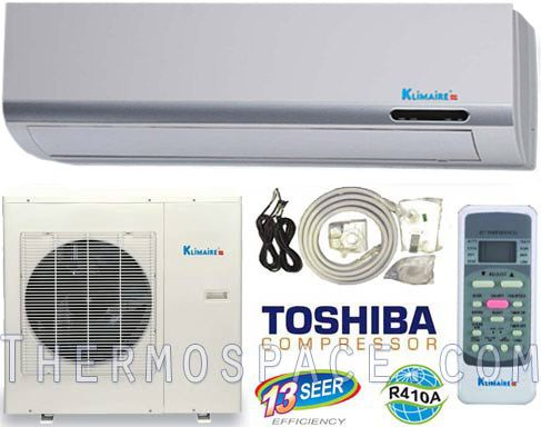Ductless Air Conditioner Mini Split AC & Heat Pump, A/C + Dehumidfier