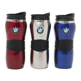 BMW Travel Mugs. Red, Blue or Stainless Steel