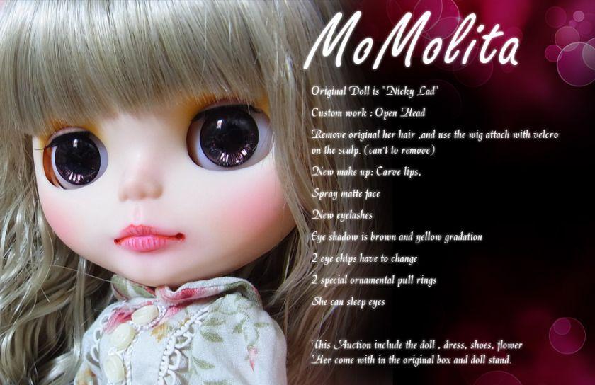 Blythe Doll Ooak Custom * Momolita