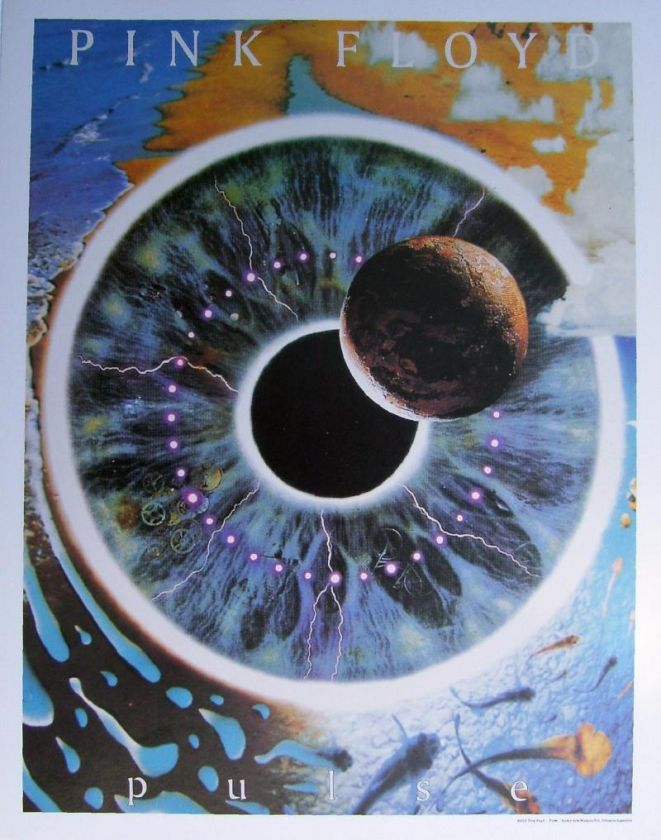 Pink Floyd Roger Waters The Wall Pulse Face Animals RARE Print LOT 2